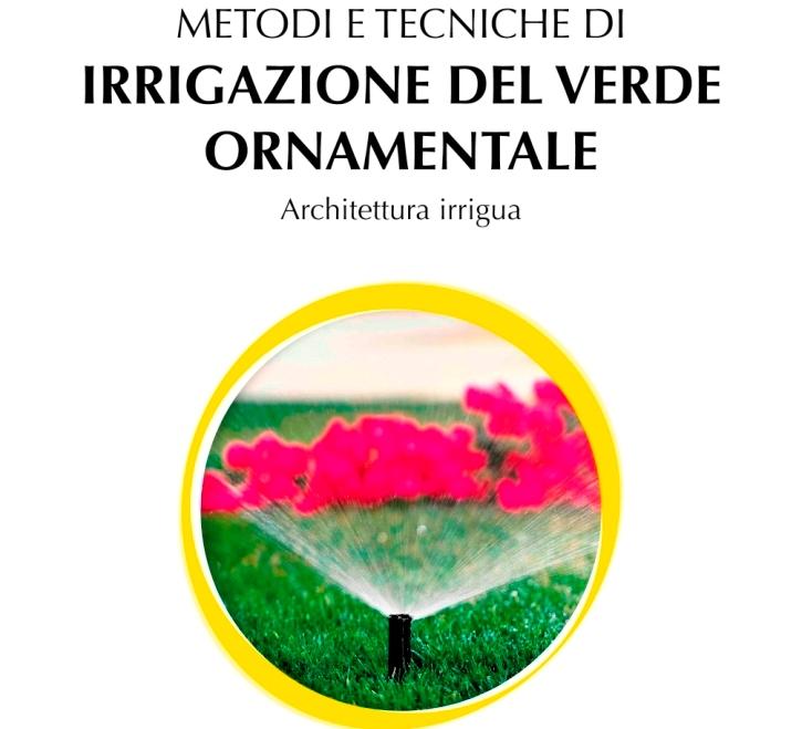 libro metodi e tecniche di irrigazione del verde